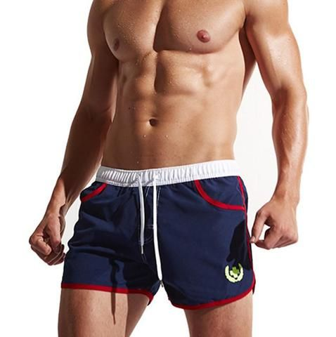 58d63d6c2a Brand Men Beach Shorts Quick Drying Mens Board Shorts Plus Size XXL  Bermudas Active Man Swimsuits Boxer Trunks