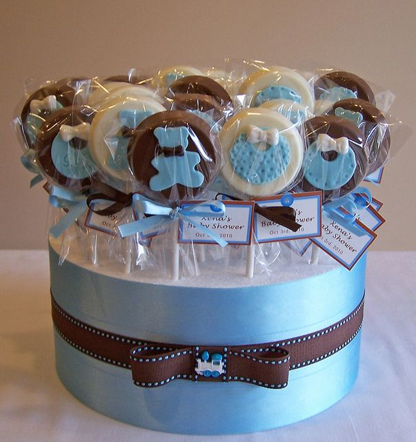 Baby Shower #chocolatepops