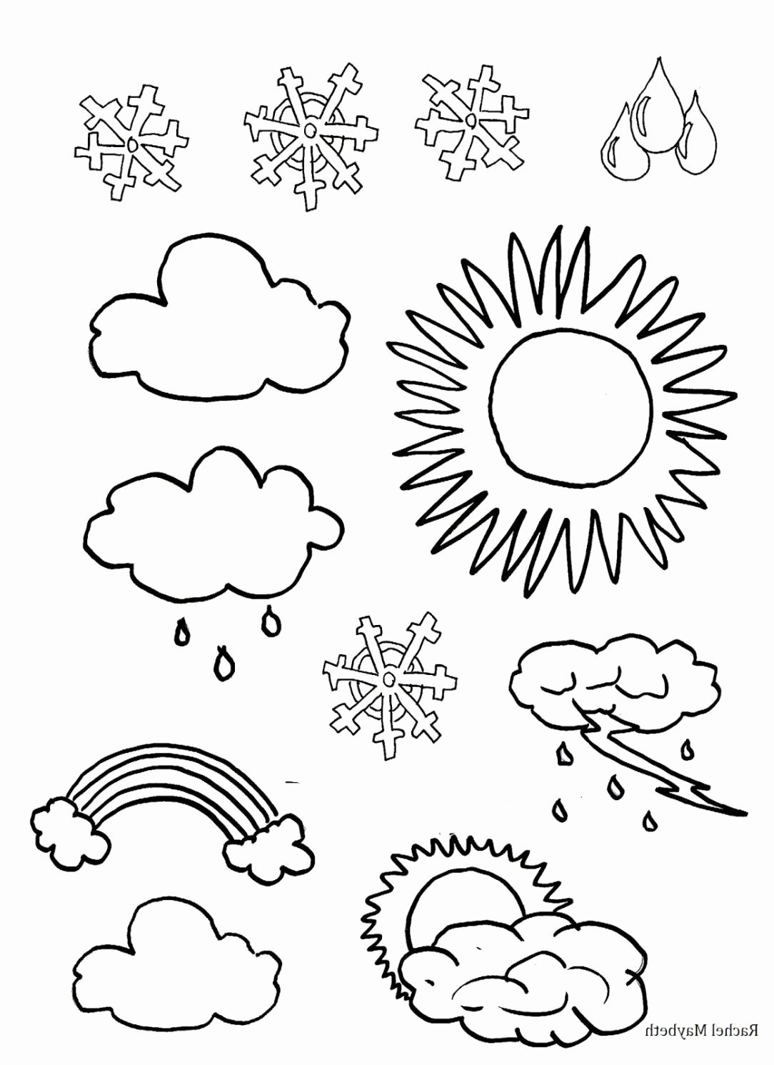 Science Coloring Pages For Kindergarten In With