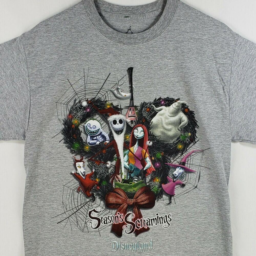 Disneyland Nightmare Before Christmas T Shirt Sz Medium