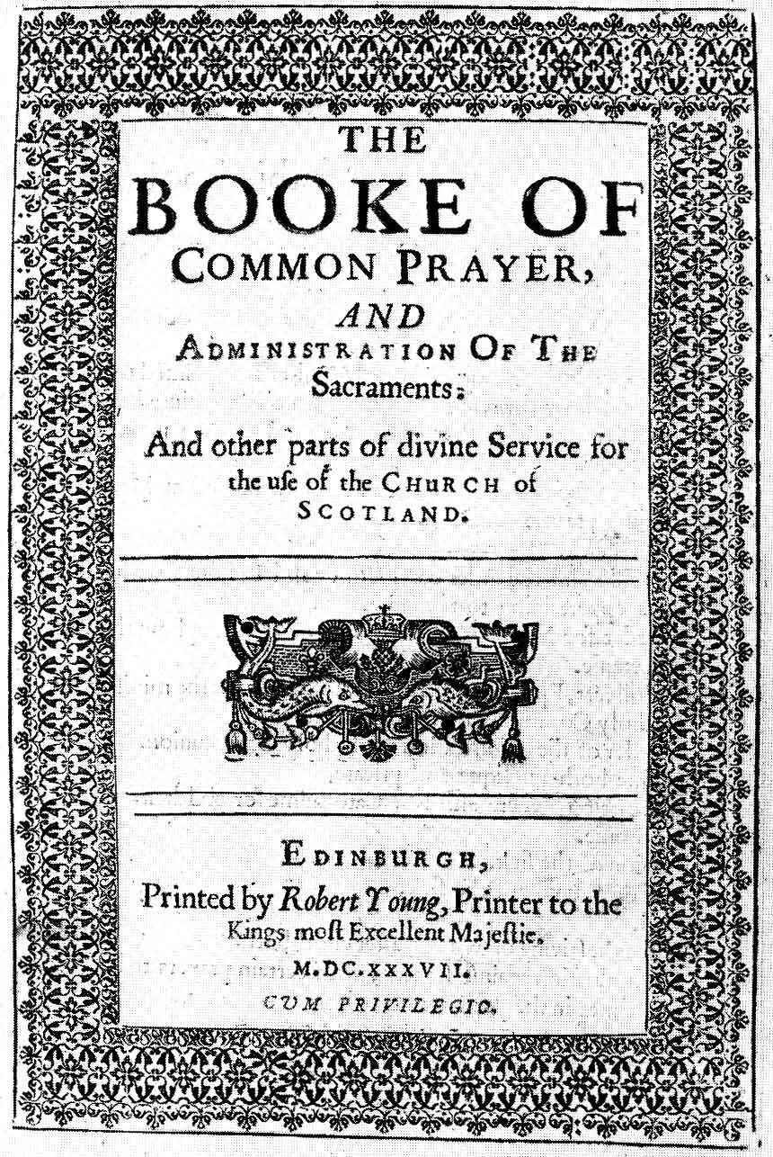 Bcpscotland1637860 book of common prayer common