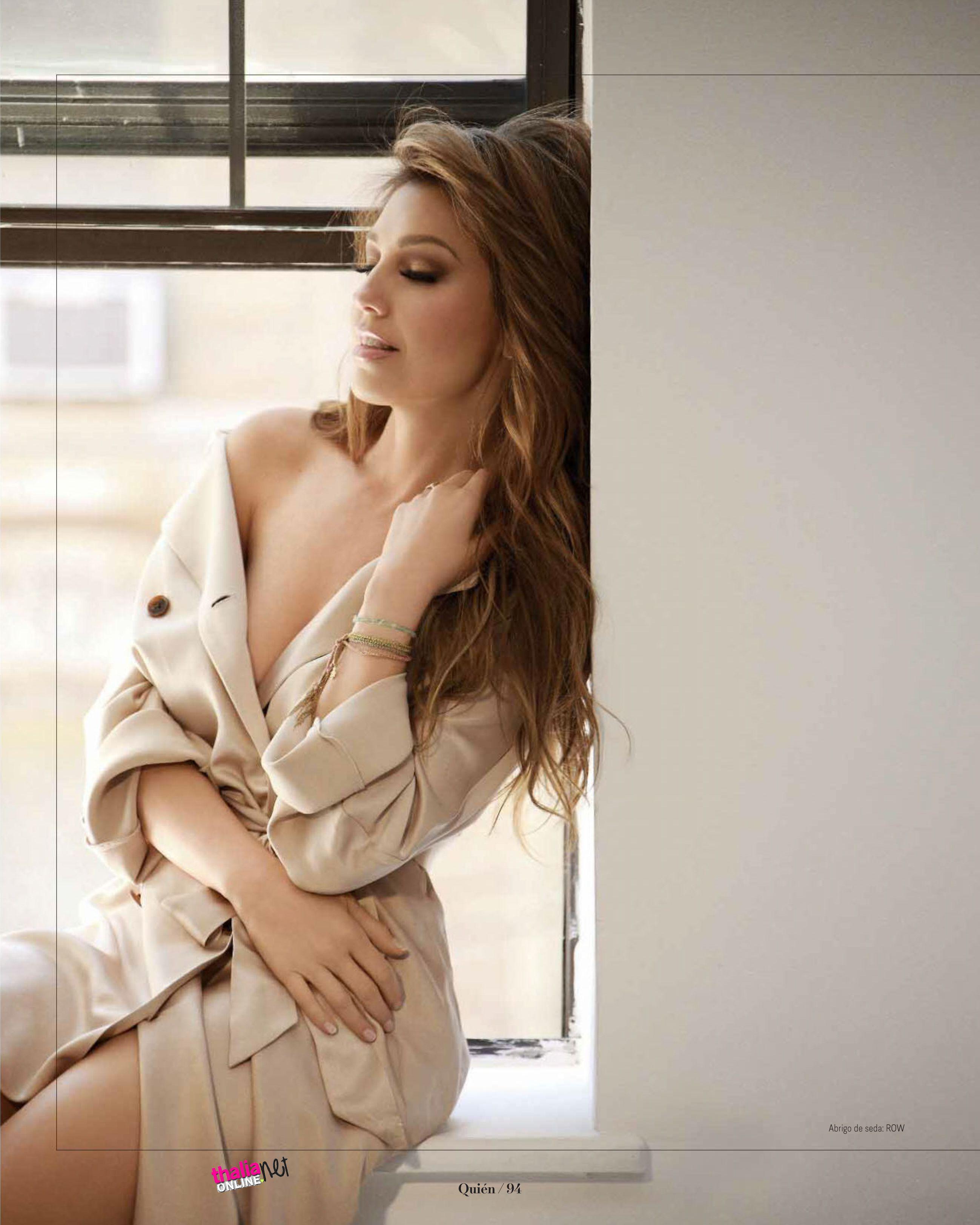 Thalia Sodi Naked Ele thalia for quien magazine, photographeduriel santana