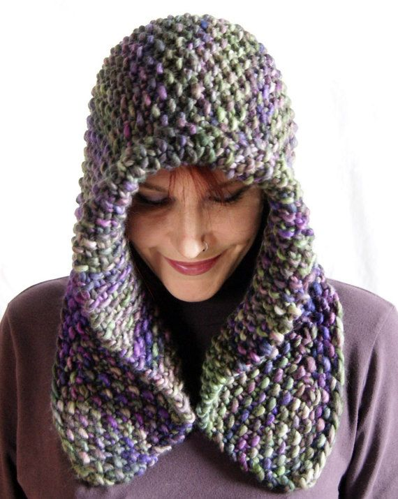 Knitting Pattern for Quick Shaped Hood Cowl - Versatile ...