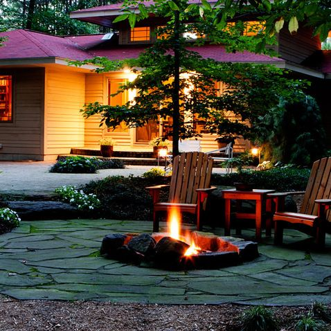 Pavestone Paver Fire Pit Design Ideas, Pictures, Remodel, and Decor - page 2