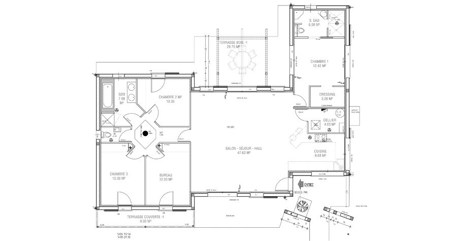 Plan maison moderne plan maison contemporaine igc for Plan maison igc