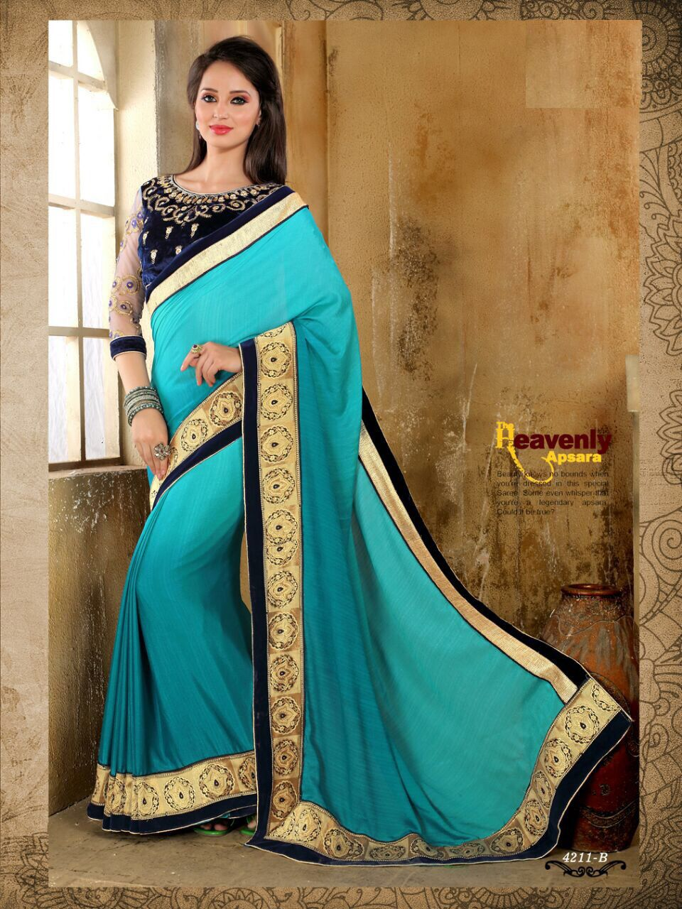 We are counted amongst the reckoned names in the industry, offering astonishing collection of Designer Sarees that is treasured for elegant looks and creative designs. Our entire product range is light in weight and is skin-friendly.The offered saree is precisely designed with the help of finest quality fabric and technically advanced machines in adherence to set industrial...