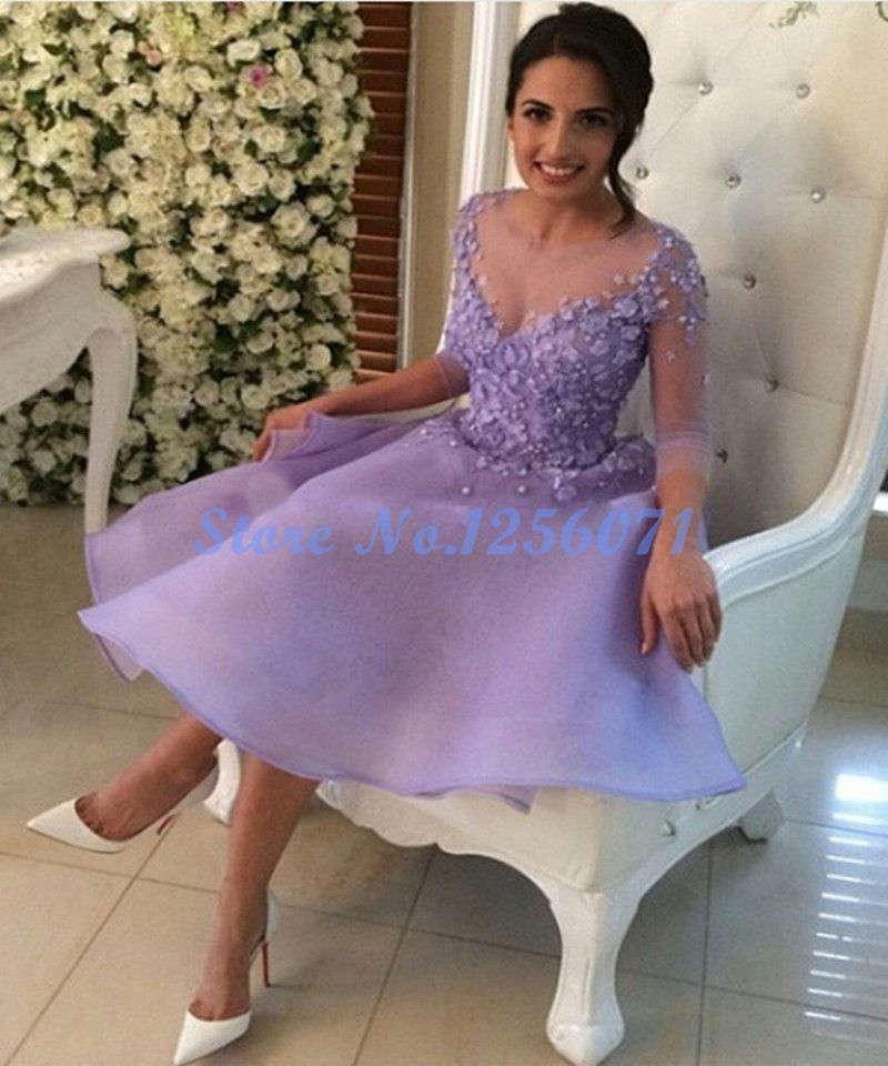 Fancy Elegant Cocktail Dresses Lace Ball Gown Cocktail Dress ...