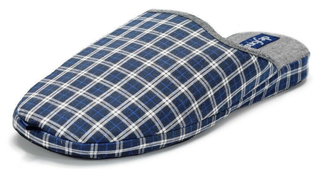 Photo of DE FONSECA pantofole ciabatte uomo ESTIVE mod. CAGLIARI M505 BLU slippers  – Sca…