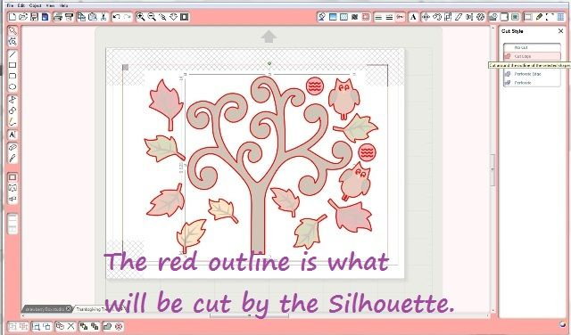 How to Use the Offset Window to Make Cut Lines in Silhouette