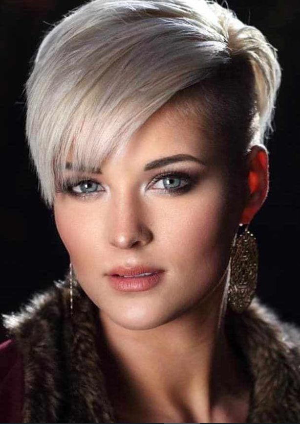 42 Hottest Short White Blonde Pixie Haircuts Femininity And Practicality Blonde Pixie Haircut Haircut For Thick Hair Pixie Haircut For Thick Hair