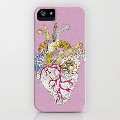 my heart is real iPhone & iPod Case by Bianca Green - $35.00