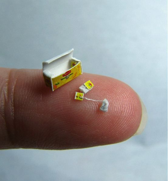 The Smallest Teabag What Is This A Tea Bag For Ants