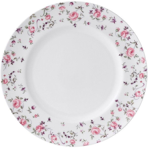Royal Albert Rose Confetti Casual Dinner Plate ($9.99) ? liked on Polyvore featuring home  sc 1 st  Pinterest & Royal Albert Rose Confetti Casual Dinner Plate ($9.99) ? liked on ...