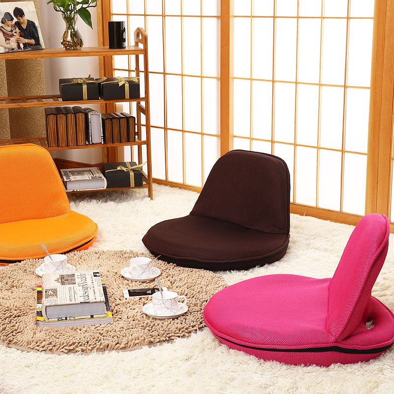 portable folding floor chairs timber ridge camp chair modern furniture foldable recliner lounge upholstered leisure lightweigt japanese style zaisu legless