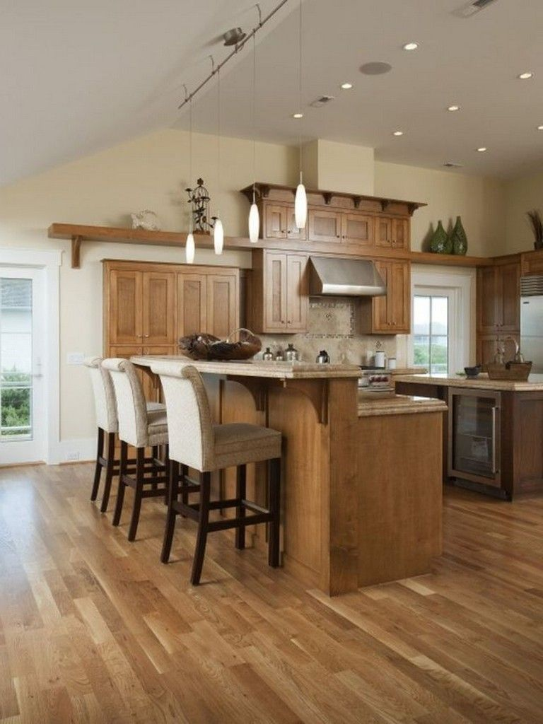 35+ Beautiful Kitchen Paint Colors Ideas with Oak Cabinet ...