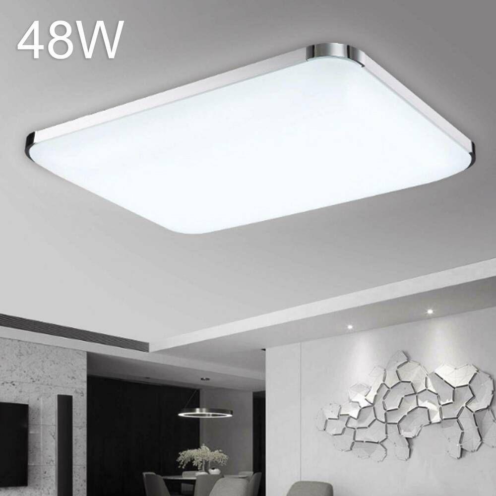 48w Led Deckenleuchte Deckenlampe Wohnzimmer Kuchen Badleuchte Kuhles Weiss Ip44 In 2020 Deckenlampe Wohnzimmer Led Deckenleuchte Led