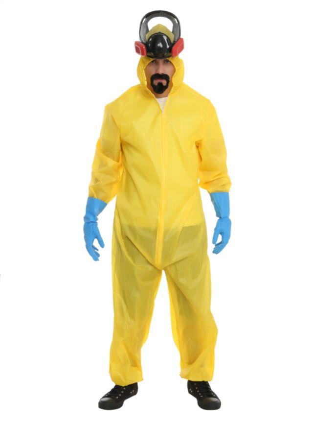 HOT TOPIC - Breaking Bad Hazmat Suit Costume #Halloween