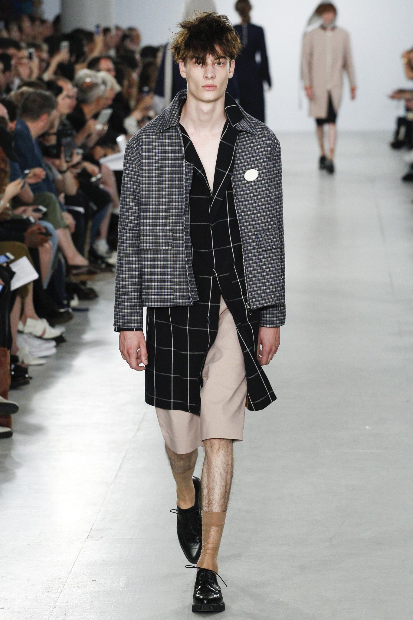 agi sam spring 2017 menswear fashion show spring fashion show was the question posed at agi sam s show this morning sam looked to his own childhood drawing inspiration from his father and mother who