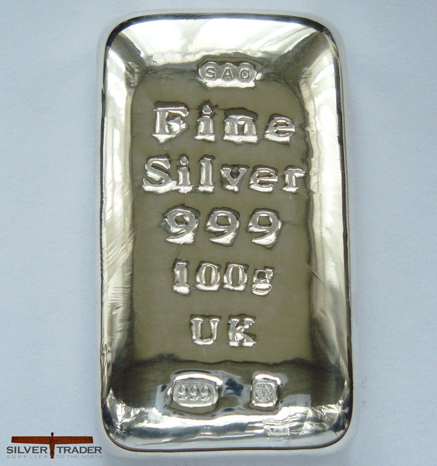 100 Gram Silver Bullion Bar 1 Goldankauf Haeger De Goldinvesting With Images Silver Bullion Gold Bullion Bars Silver Bullion Coins