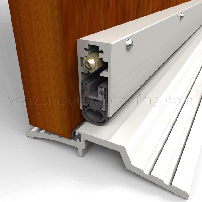 High Sound Automatic Soundproof Door Bottom - TMSoundproofing.com & High Sound Automatic Soundproof Door Bottom - TMSoundproofing.com ...