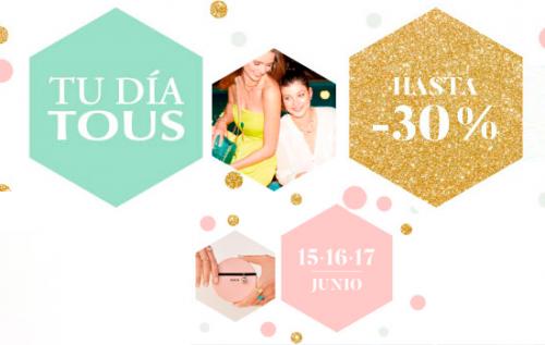 Descuentos de hasta un 30% en joyas y accesorios en Tous