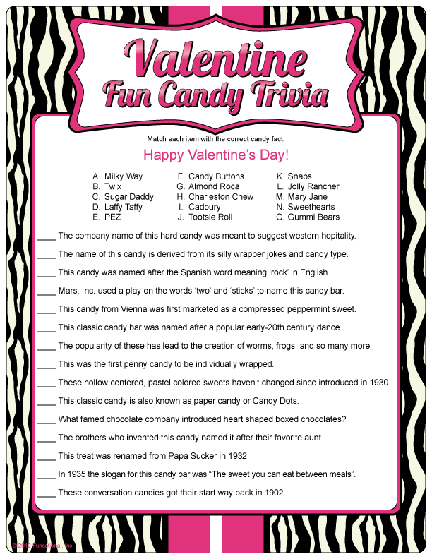 It is an image of Gratifying Free Printable Valentine Games for Adults