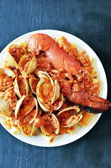 LOBSTER ENCHILADAS recipe | Epicurious.com