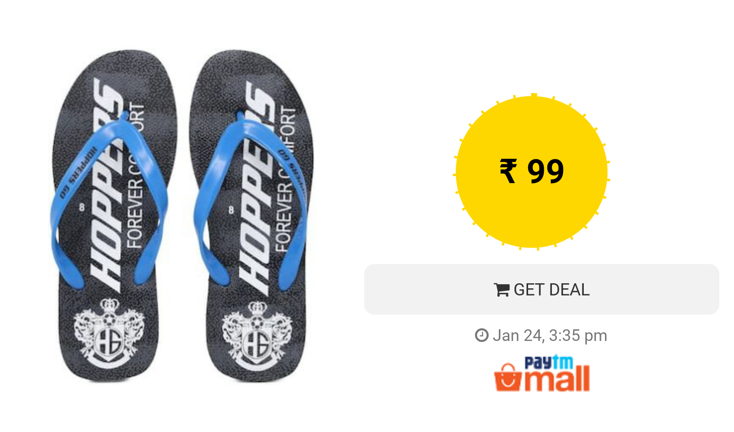 1c6124e8f7be5e Get Rs.50 Recharge Voucher on Buying Hoppers Flipflop
