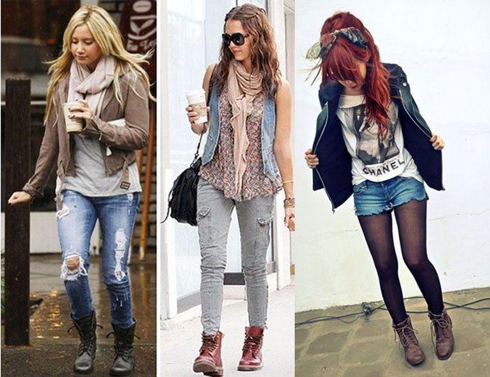 Coturno 6 botas militares para chicas burras pinterest for Burras para ropa