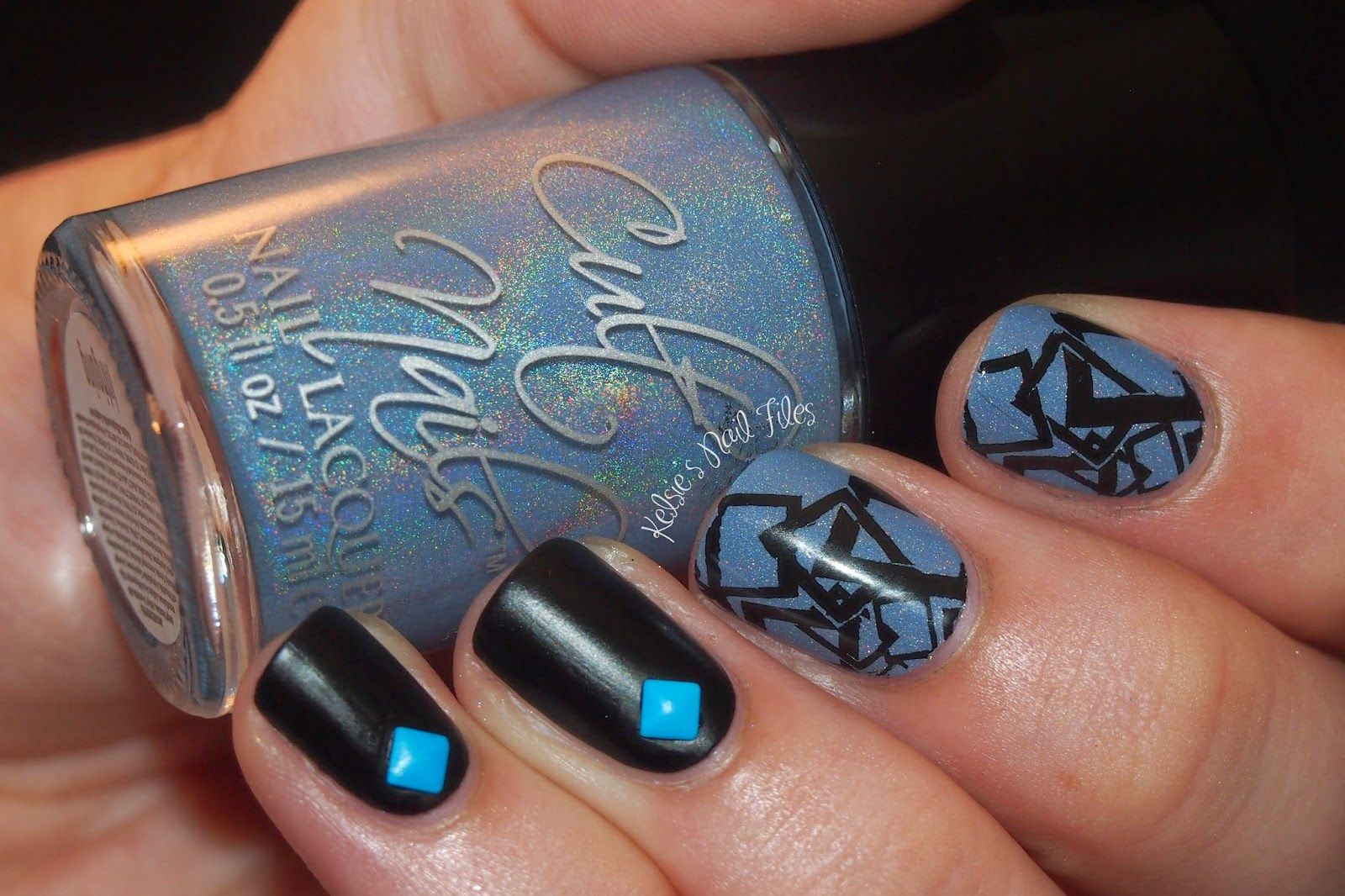 Kelsie\'s Nail Files: Intriguing Geometry | Fun Nails | Pinterest ...