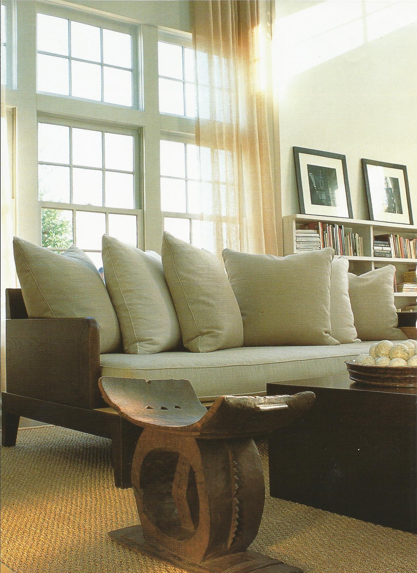 In Living Room Of Designer James 'auria Pair