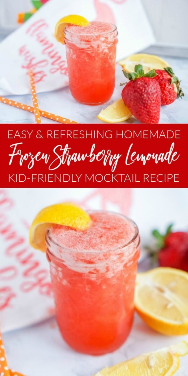 Easy Strawberry Lemonade  - Why Didn't I Think of That  #Didnt #easy #Lemonade #Strawberry #easylemonaderecipe
