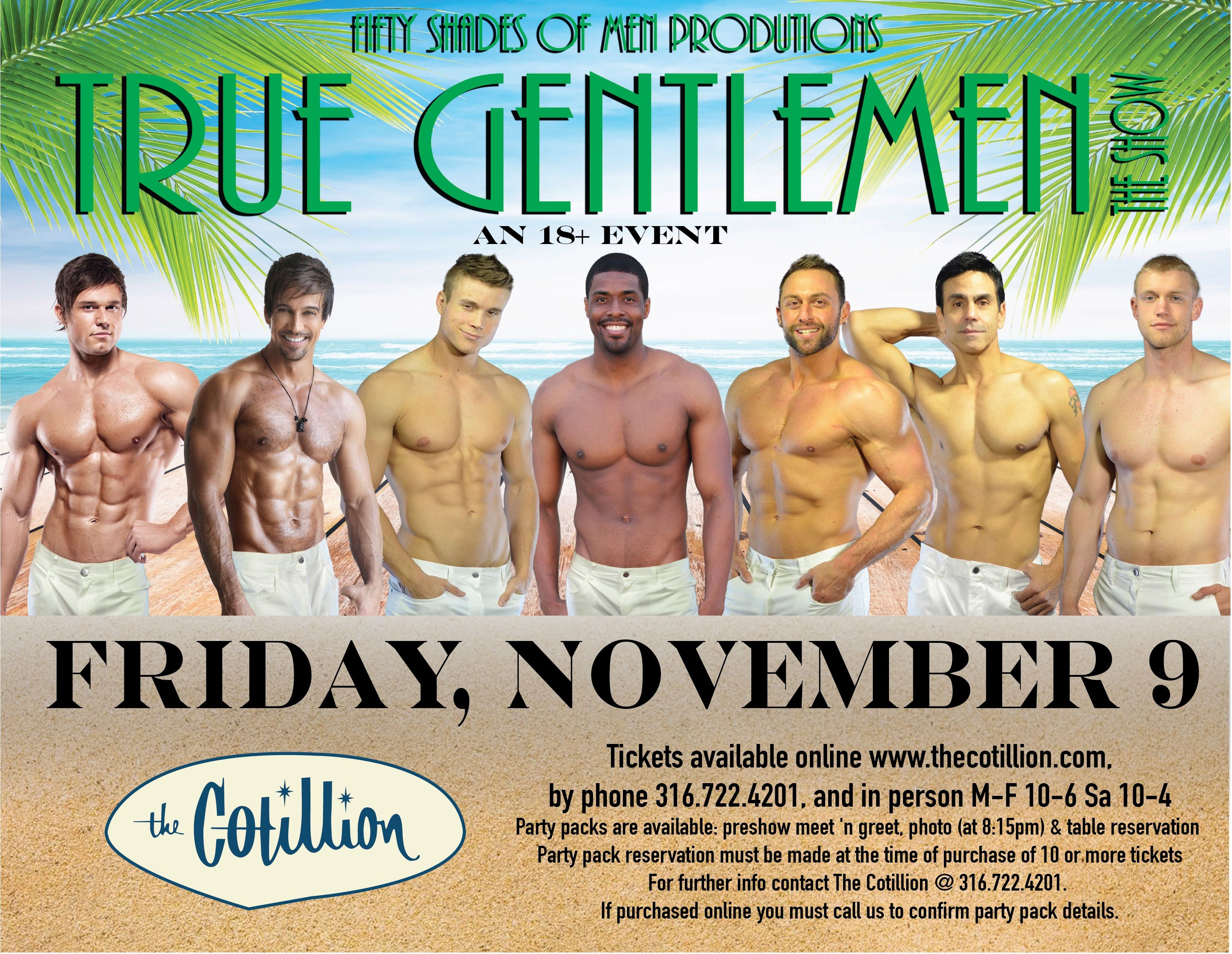 True Gentlemen The Show Friday Nov 9 730pm Doors 9pm Show Advance