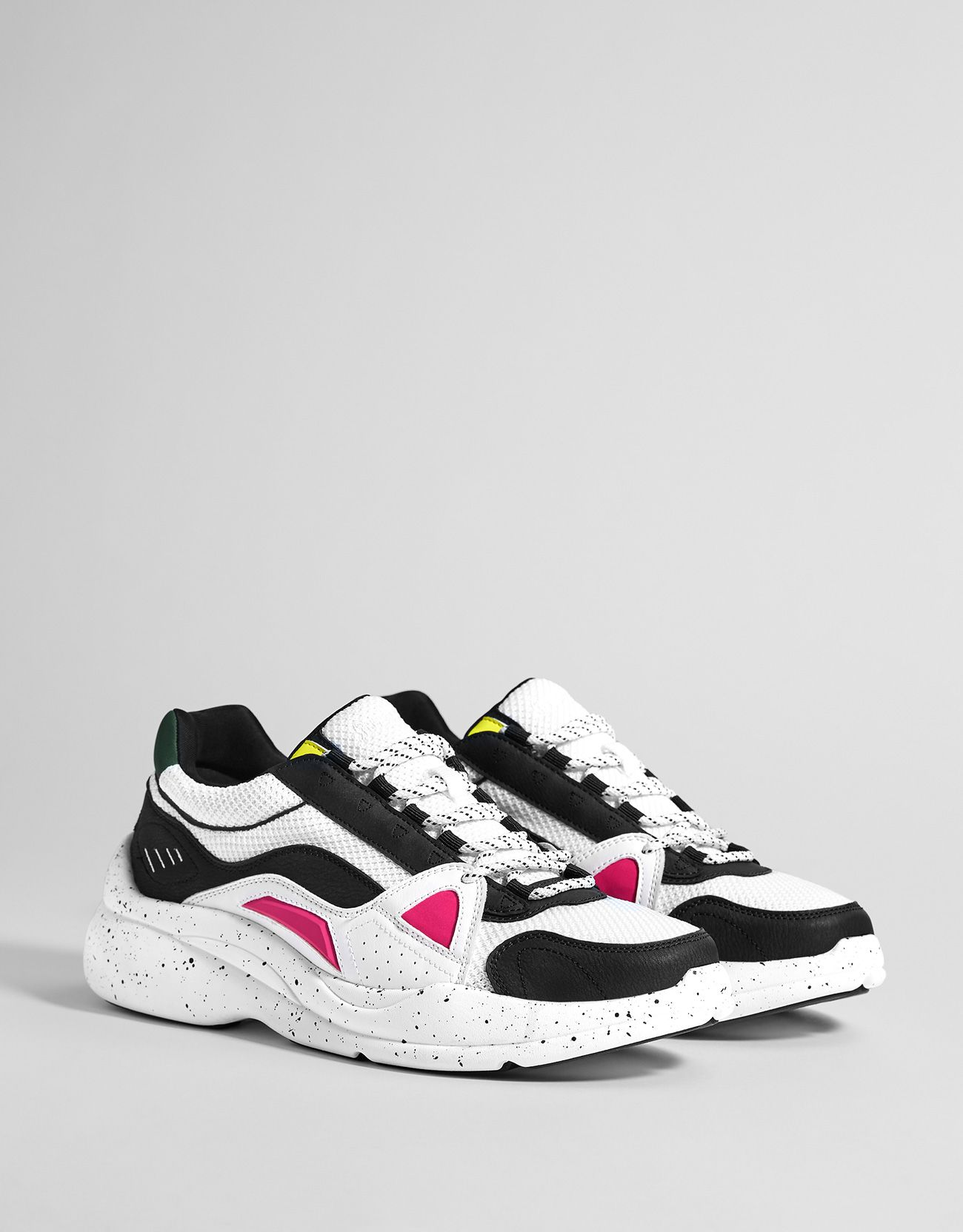 3af82c59a01214 Women's trainers with multicoloured pieces - Trainers - Bershka United  Kingdom