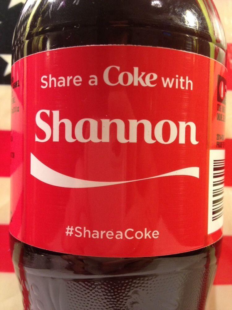 Share a Coke with Mo 20 fl oz Collectible Bottle Rare Unopened Coca-Cola