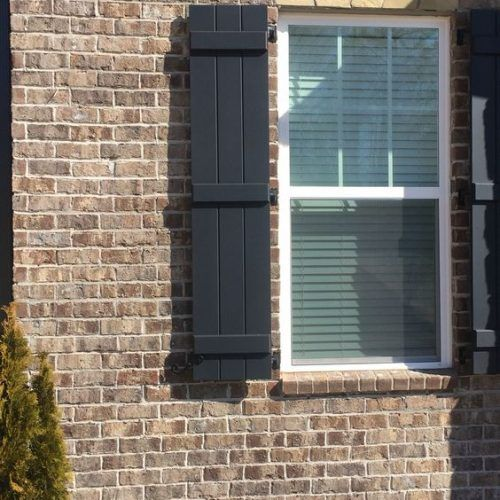 Exterior Paint Colors For House With Brick Shutters
