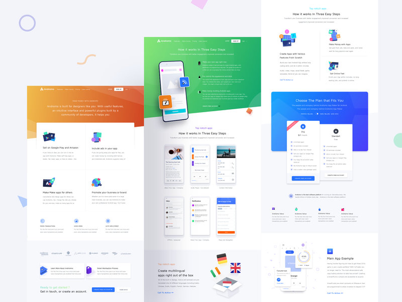 App Development Platform Website Inner Pages App Development Web Design App