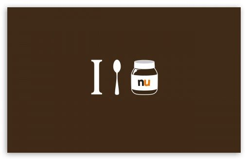 Download I Love Nutella HD Wallpaper Nutella, Parole, Cibo