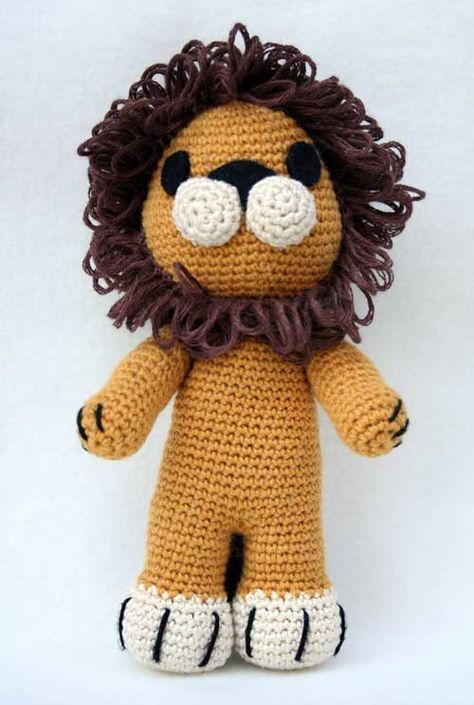 Amigurumi Lion - free crochet pattern (scroll down for instructions ...