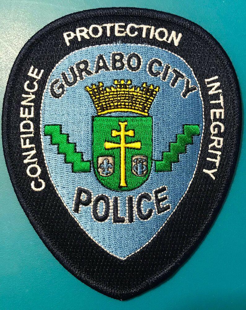 Puerto Rico Gurabo City Policia Municipal Police Patch Police Patches Police Gurabo