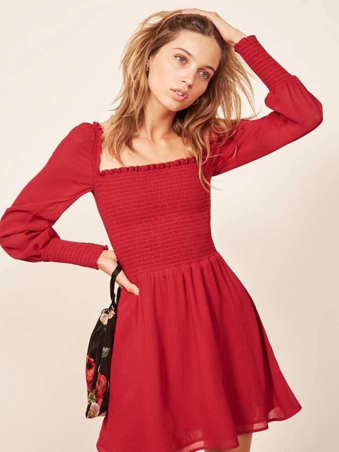 7e5ed09c6b73 Reformation Kelli Dress | Products in 2019 | Dresses, Fashion ...