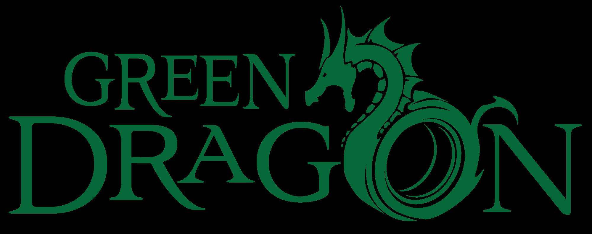 Pics For Gt Green Dragon Logo Green Dragon Green Name Logo