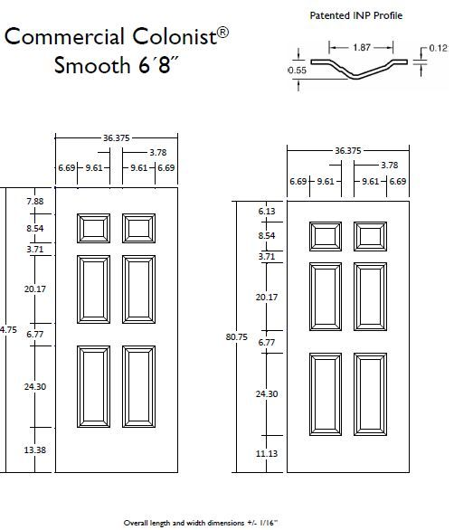 Raised Panel Increased Stile And Rail Dimensions Doors Interior Doors Interior