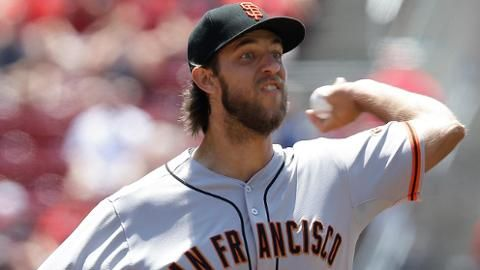 MADISON BUMGARNER of the SF Giants