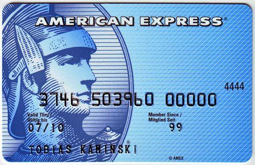 American Express Blue Card American Express Card American Express Blue Card American Express Blue