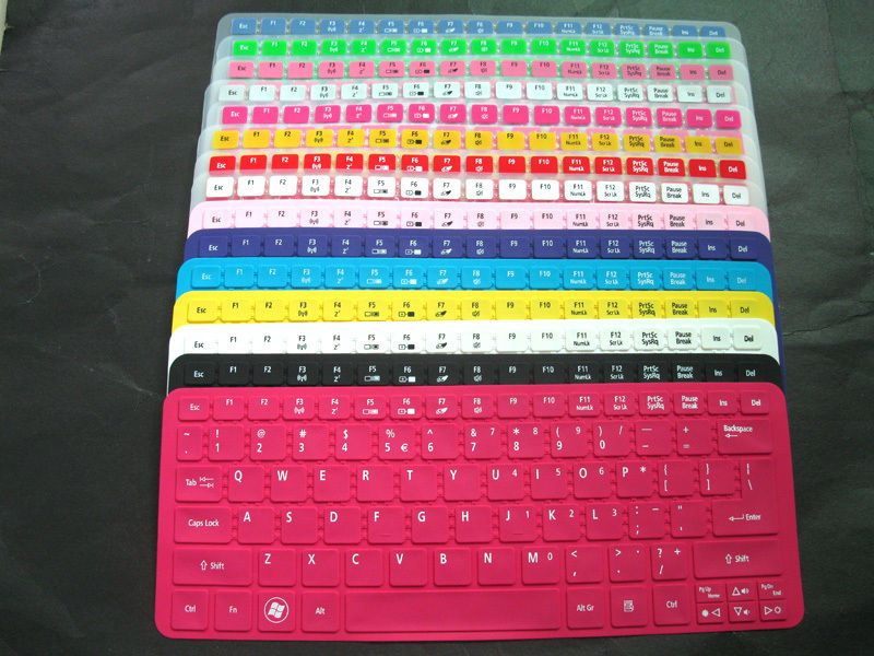 Keyboard Skin Cover Fr Acer C7 C710 C710 2847 Chromebook Google S3