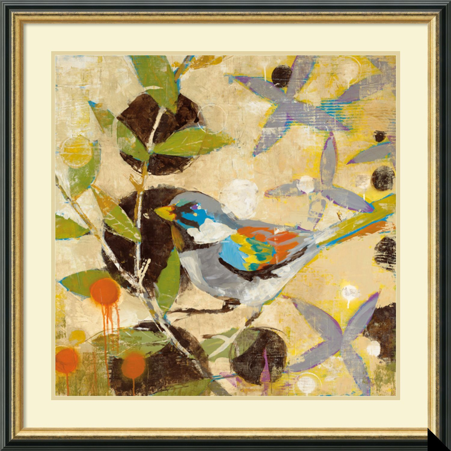 Liz Jardine \'Flew The Coop I\' Framed Art Print 32 x 32-inch | Liz ...