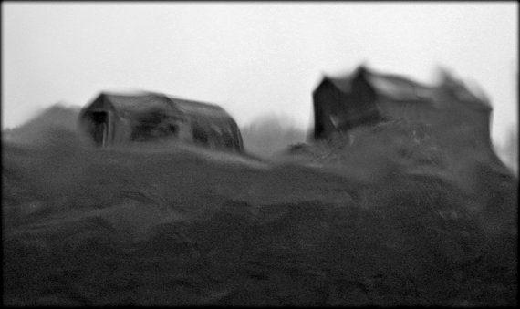 Barn in the Rain B London Ontario. 5x7 mini Print | Black ...