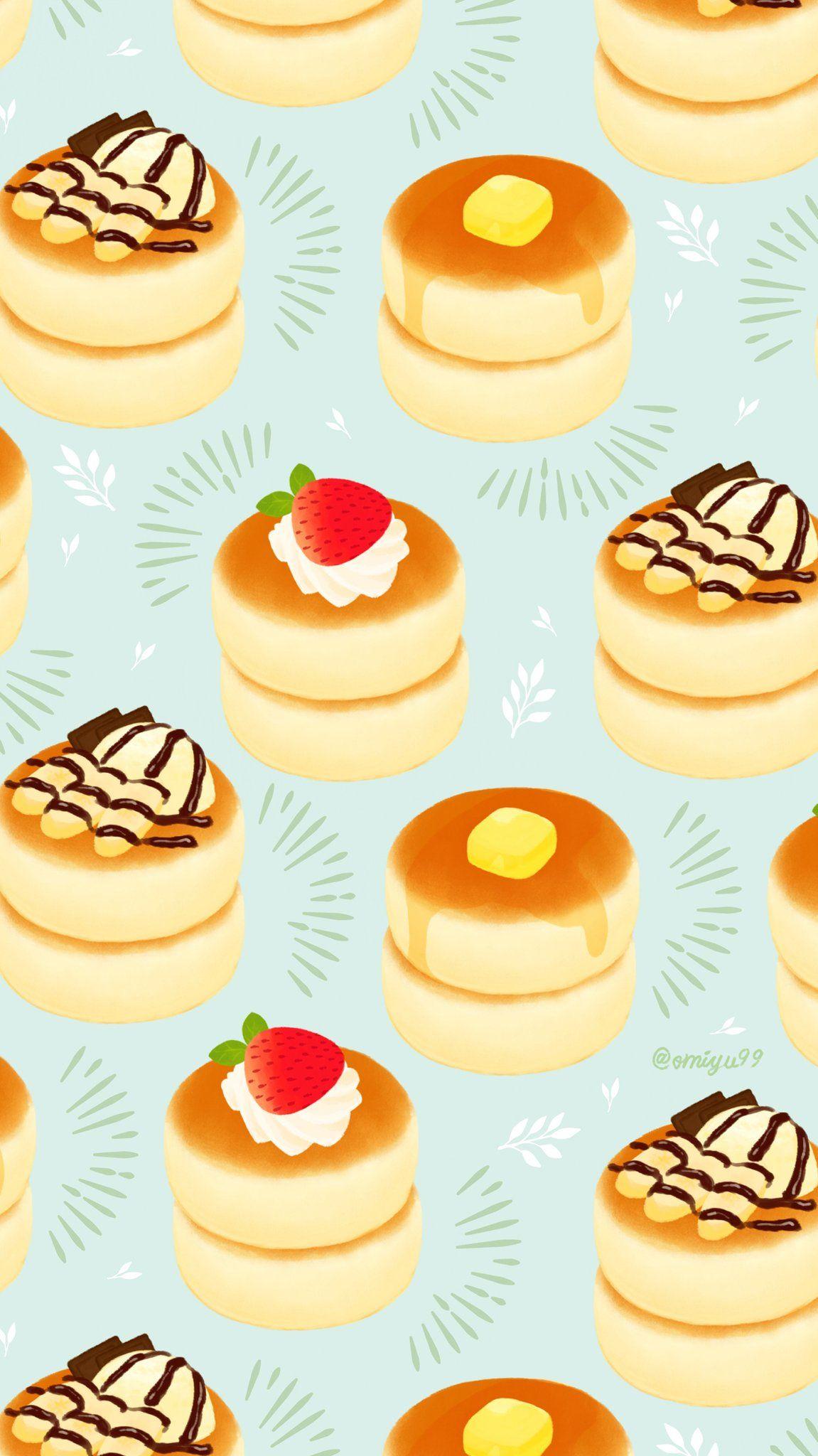 Omiyu みゆき In Food Wallpaper Food Doodles Cute Food Art