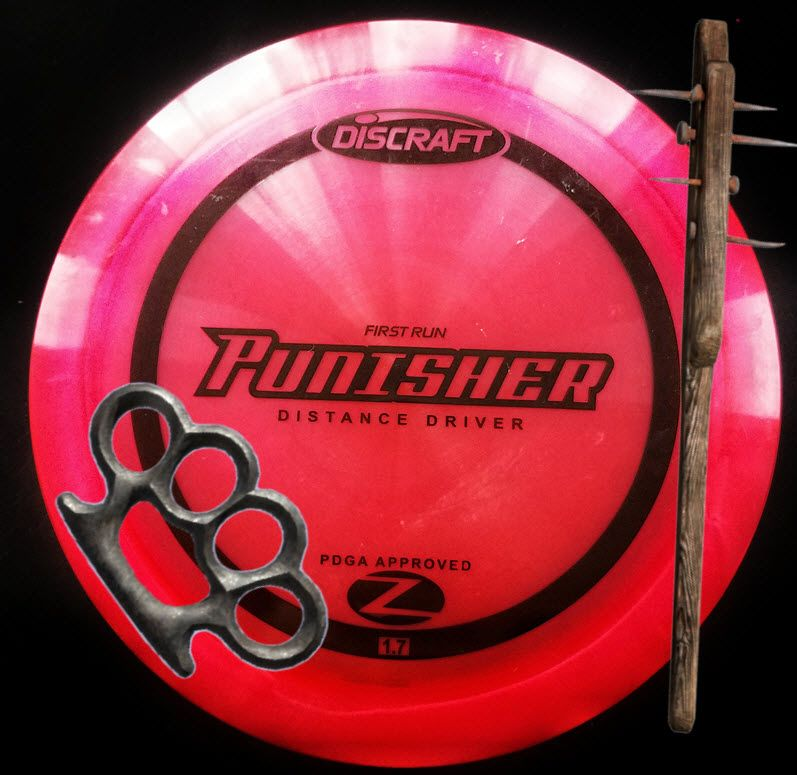 Discraft Punisher Review long distance driver with